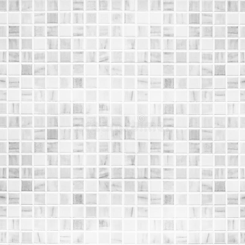 Witte tegelmuur stock fotografie