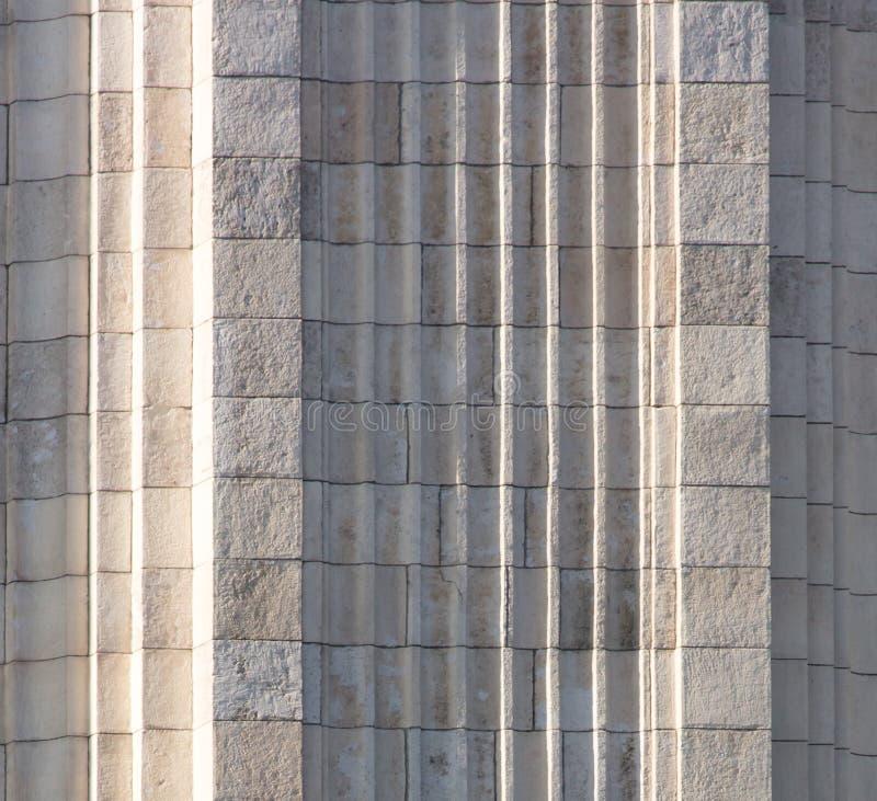 Witte tegels op het gebouw als achtergrond royalty-vrije stock fotografie