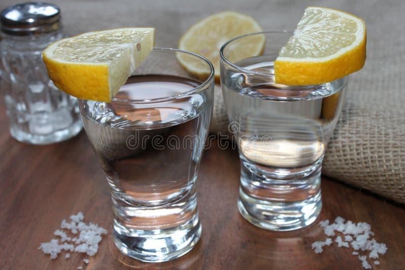 Witte tequila stock afbeelding