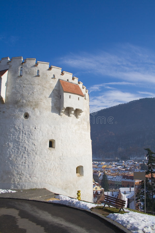 Witte Toren royalty-vrije stock fotografie