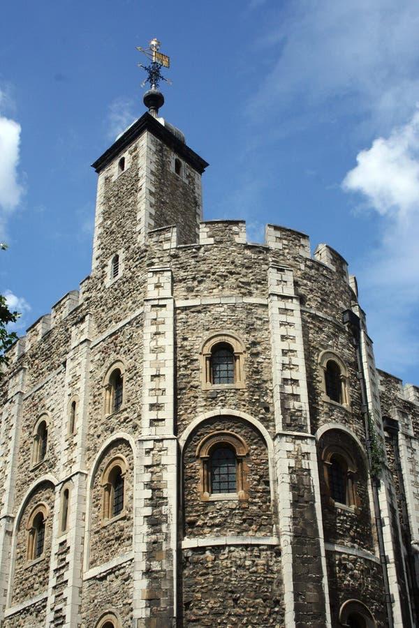 Witte Toren, Toren van Londen stock foto