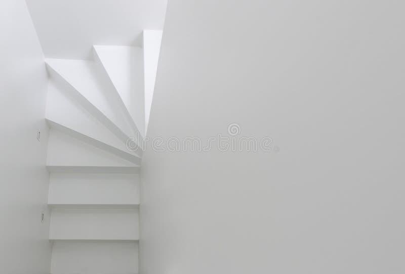 Witte trap hoogste mening royalty-vrije stock foto