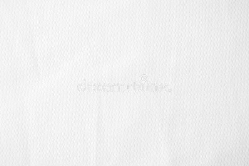 Witte van de stoffendoek textuur als achtergrond royalty-vrije stock afbeelding