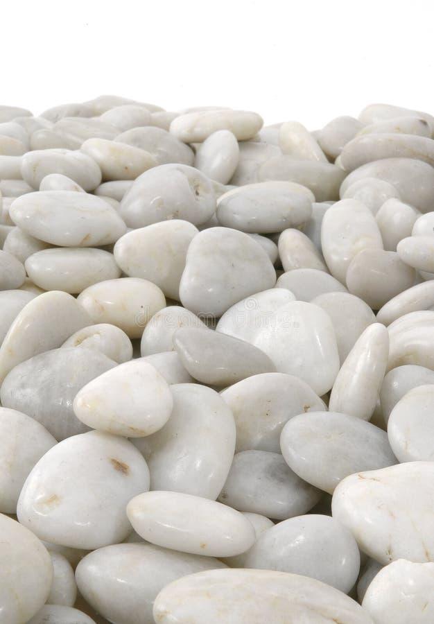 Witte van Stenen Geïsoleerded Verticaal Als achtergrond