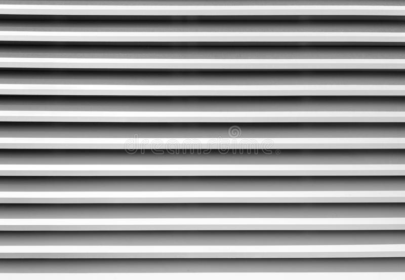 Witte venster blinde strepen royalty-vrije stock foto