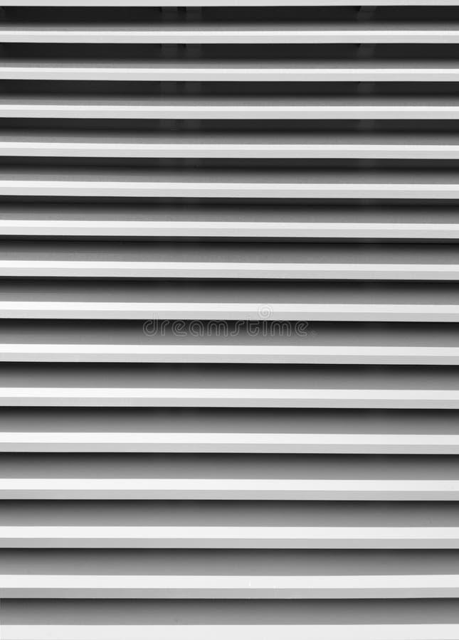 Witte venster blinde strepen royalty-vrije stock fotografie