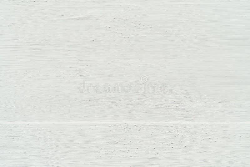 Witte Verf Houten Raad stock afbeeldingen