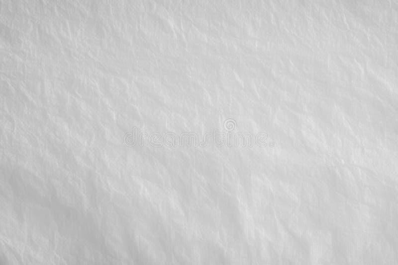 Witte verfrommelde document textuurachtergrond stock fotografie