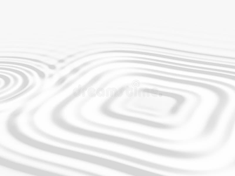 Witte vierkante rimpeling royalty-vrije illustratie