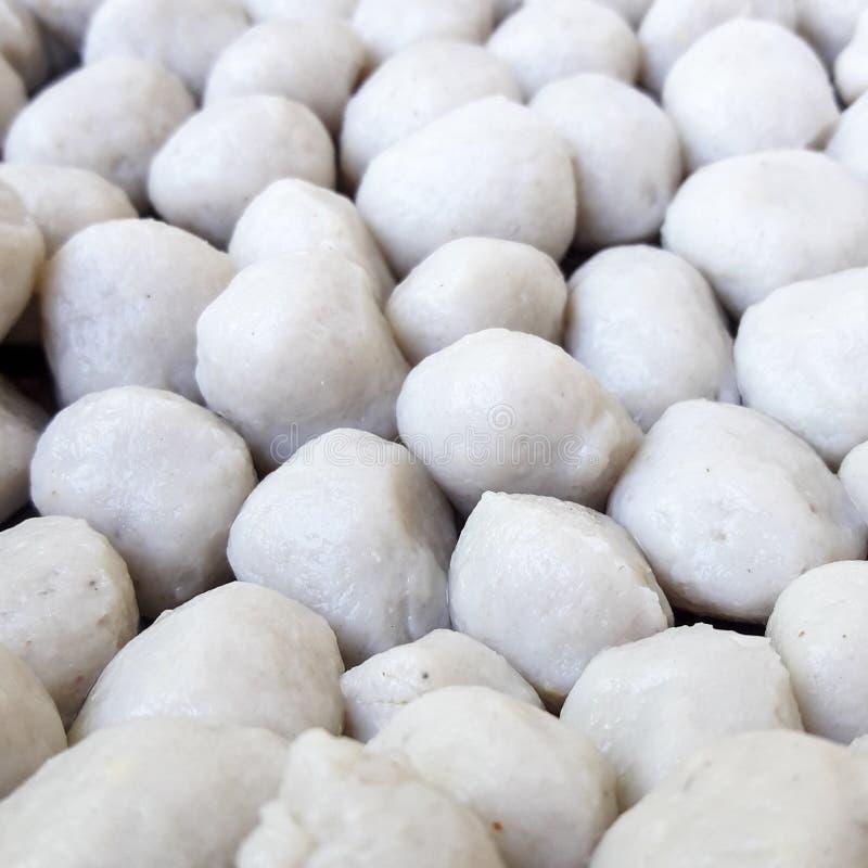 Witte vissenballen stock afbeelding