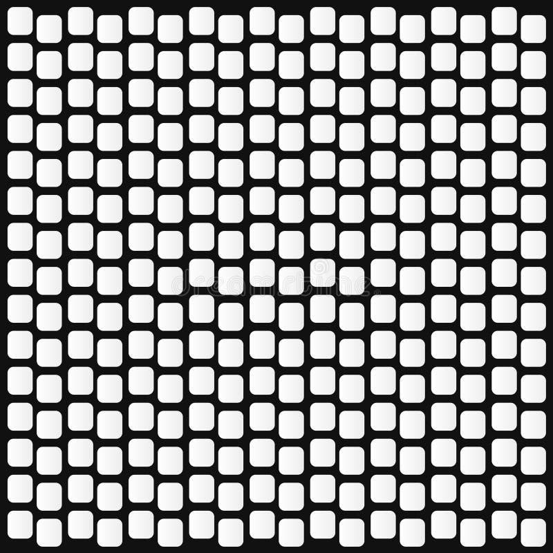 Witte vormen op zwarte achtergrond stock fotografie