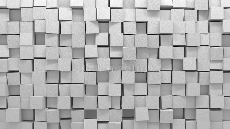 Witte wanorde stock illustratie