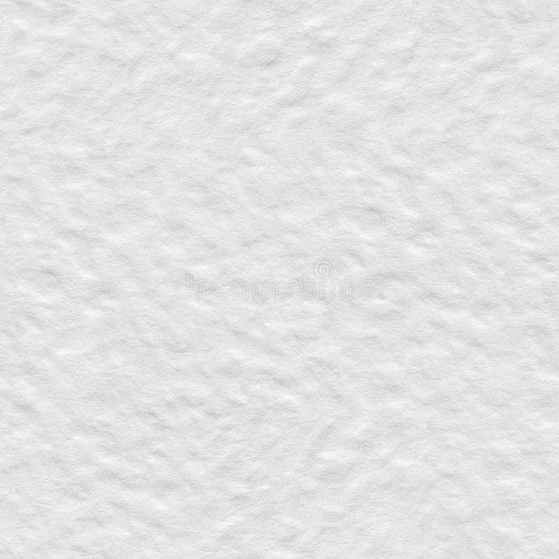 Witte waterverfdocument textuur Naadloze vierkante achtergrond, tegel royalty-vrije stock foto