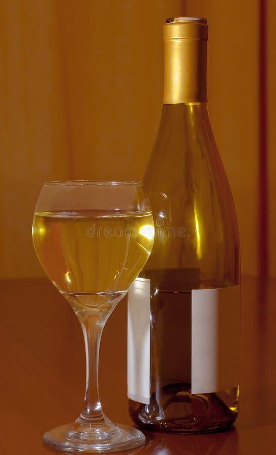 Witte Wijn royalty-vrije stock afbeelding
