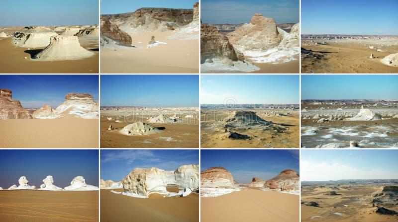 Witte Woestijn, Egypte royalty-vrije stock foto's