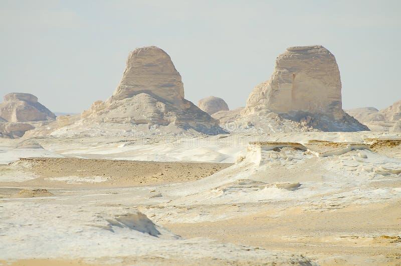 Witte Woestijn - Egypte stock fotografie