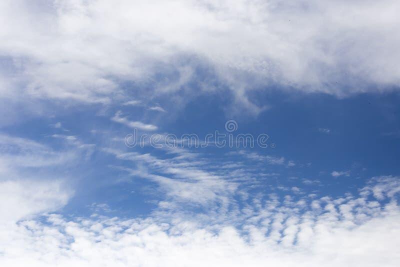 Witte wolk stock fotografie