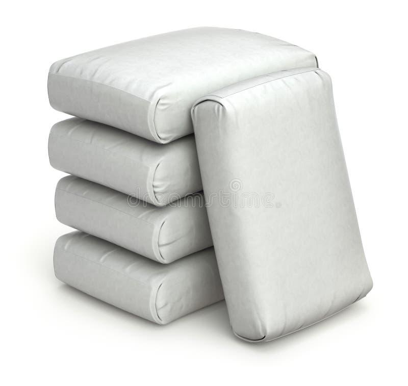 Witte zakken vector illustratie