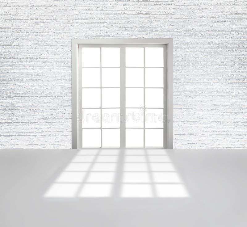 Witte zolder royalty-vrije illustratie
