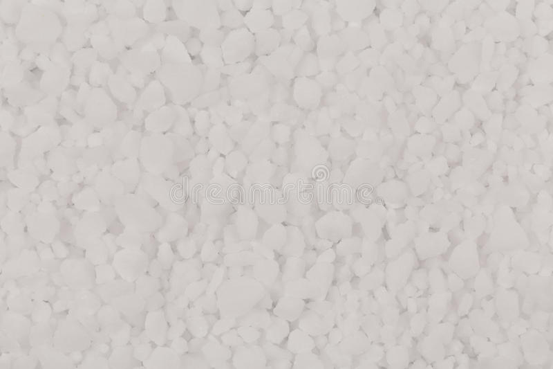 Witte zoute textuur stock foto's