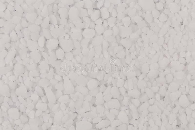 Witte zoute textuur royalty-vrije stock fotografie