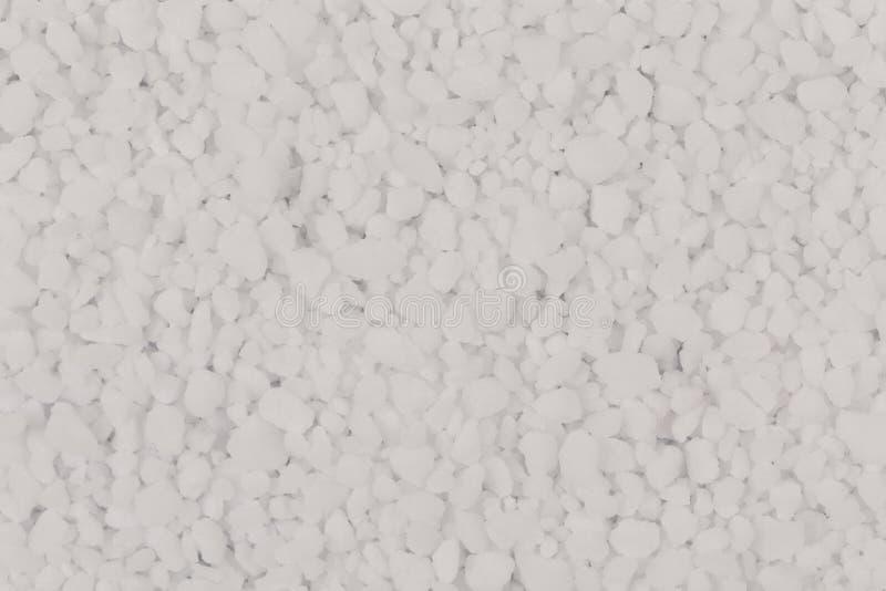 Witte zoute textuur stock afbeelding