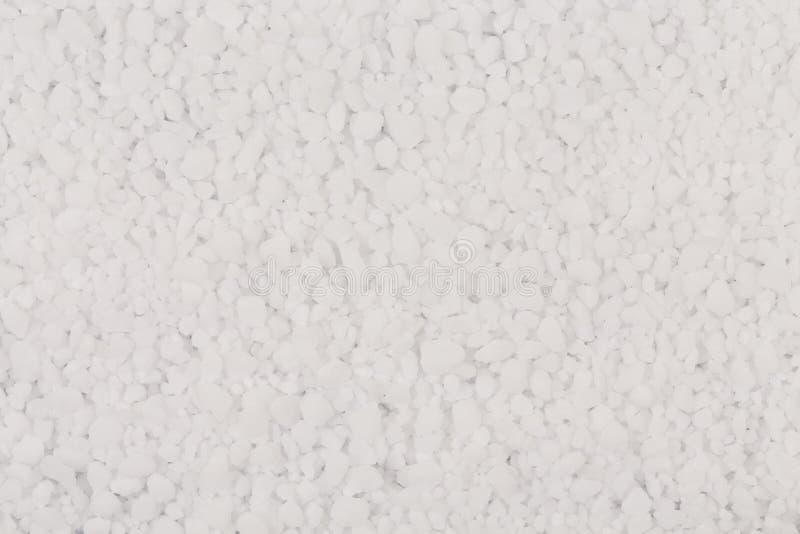 Witte zoute textuur royalty-vrije stock foto