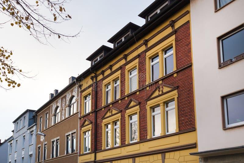 Witten Deutschland im Herbst lizenzfreies stockbild