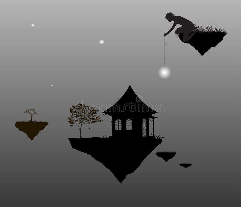 Wiza ilustracja wektor