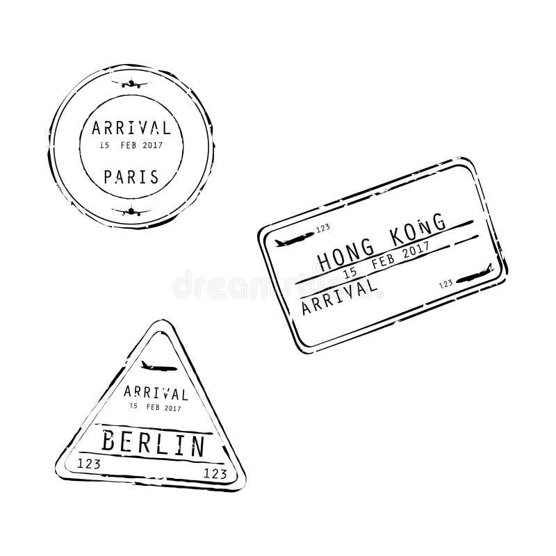 Wiza znaczki royalty ilustracja