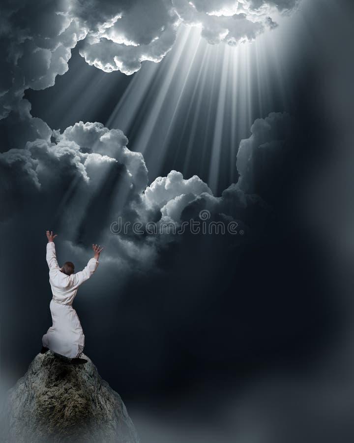 Download Wizard stock image. Image of belief, pray, beam, happiness - 21995711
