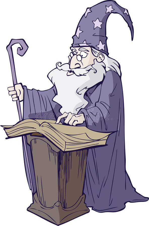 Download Wizard stock vector. Image of myth, ritual, character - 25512719