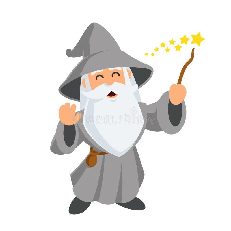 wizard illustrazione vettoriale