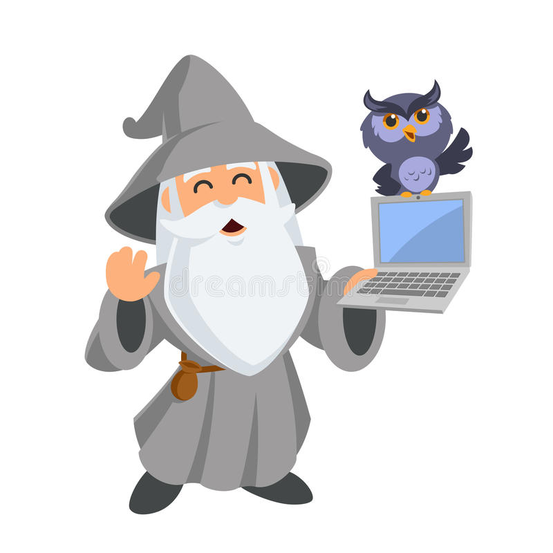 wizard illustrazione di stock
