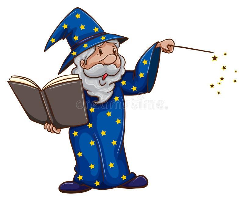 Wizard stock illustration