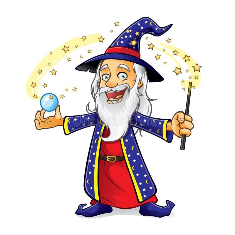 Wizard vector illustration