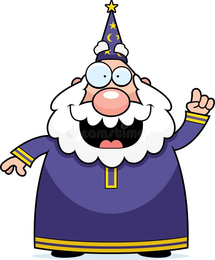 Download Wizard Idea stock vector. Image of talking, illustration - 14466008