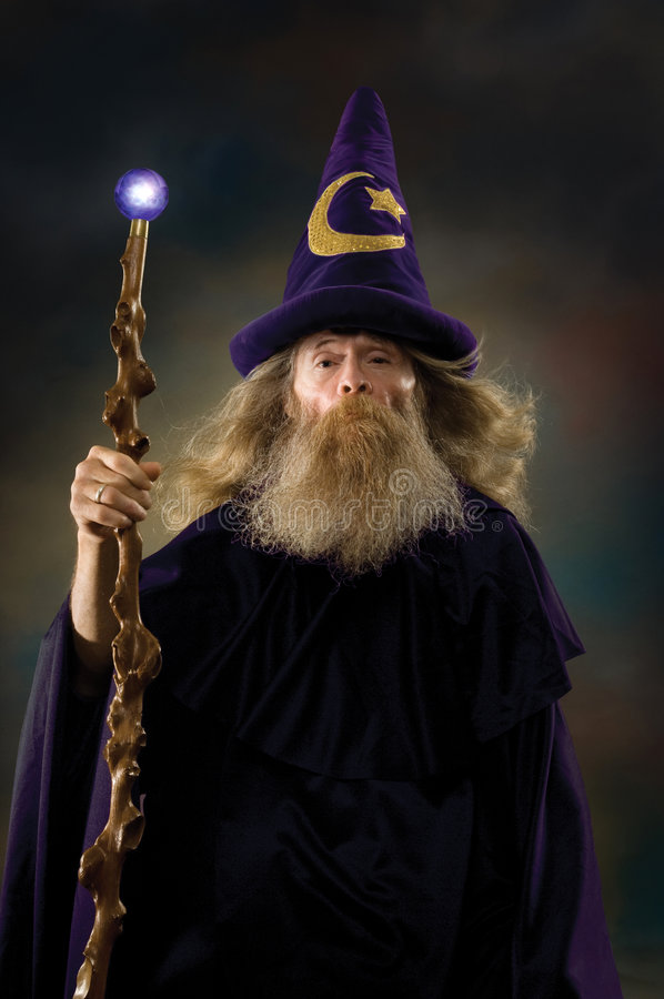 Download Wizard Portrait stock photo. Image of gandalf, fairy, rings - 5838516