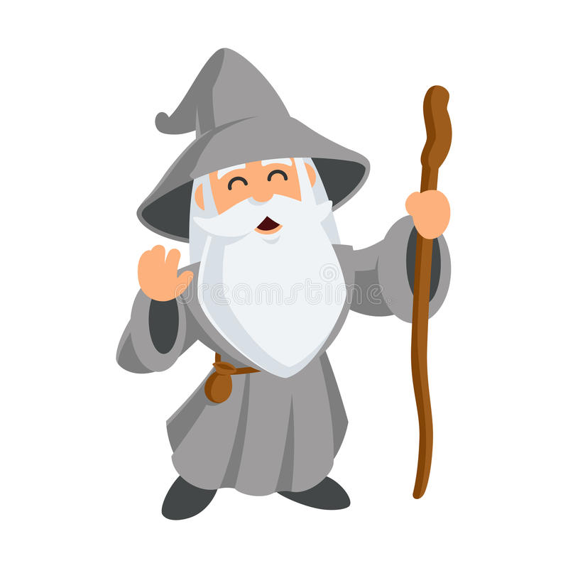 Wizard royalty free illustration