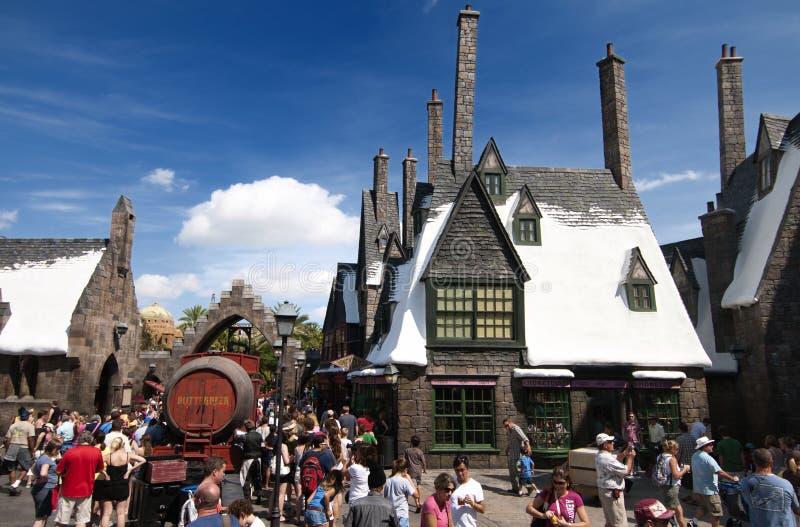wizarding κόσμος αγγειοπλαστών H στοκ εικόνα