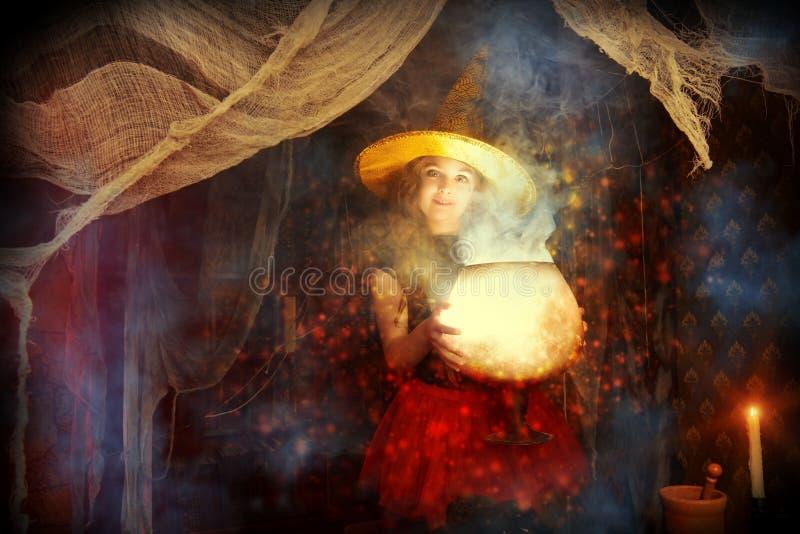 Wizarding lya royaltyfri foto