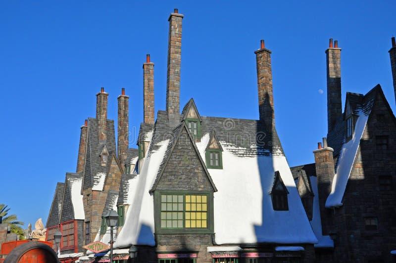 Wizarding värld av Harry Potter, Orlando, Florida, USA royaltyfri foto