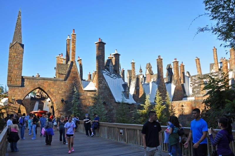 Wizarding värld av Harry Potter, Orlando, Florida, USA royaltyfri bild