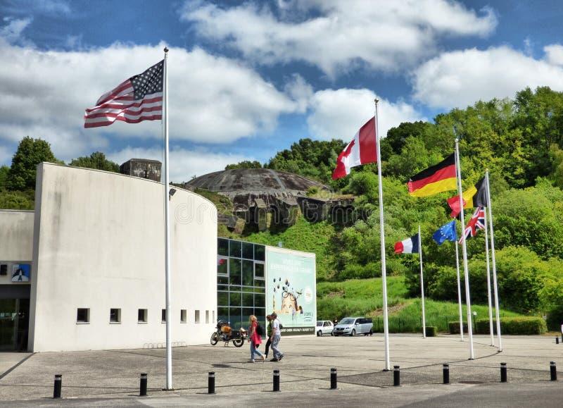 WIZERNES FRANCJA, MAJ, - 1, 2019: Kopuła los angeles Coupole jest Drugi wojna światowa bunkieru kompleksem budującym Nazistowskim obraz stock