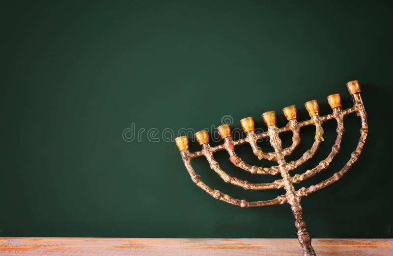 Wizerunek żydowski wakacyjny Hanukkah obraz royalty free