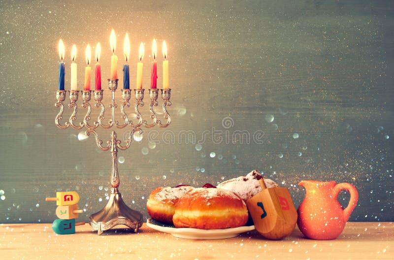 Wizerunek żydowski wakacyjny Hanukkah zdjęcie stock