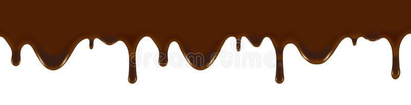 Wizerunek aktualny czekoladowy zbliżenie royalty ilustracja