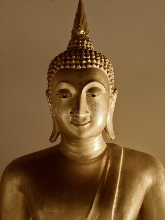 Wizerunek Buddha uśmiechu twarz obrazy stock