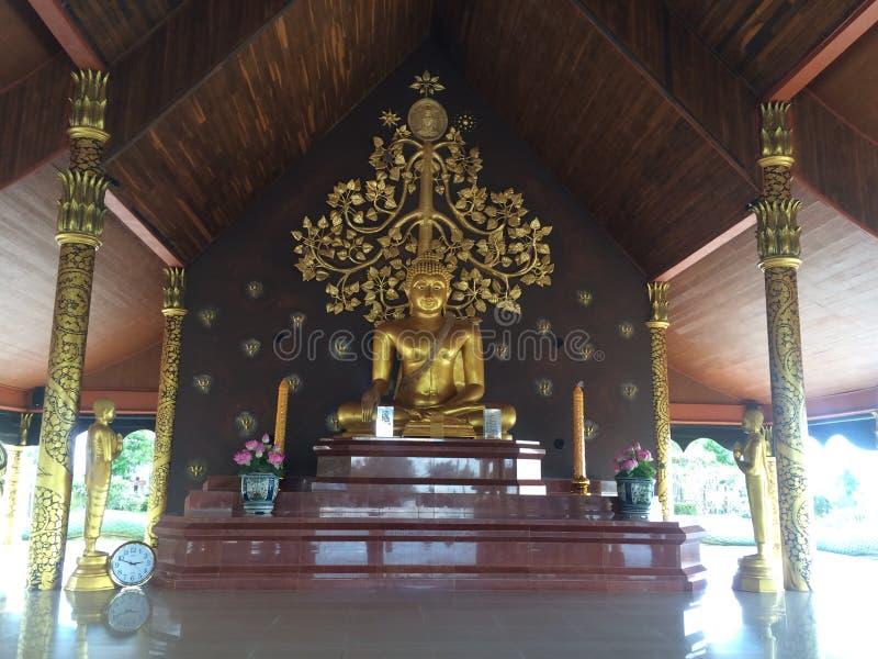 Wizerunek Buddha w Pruprow obraz royalty free