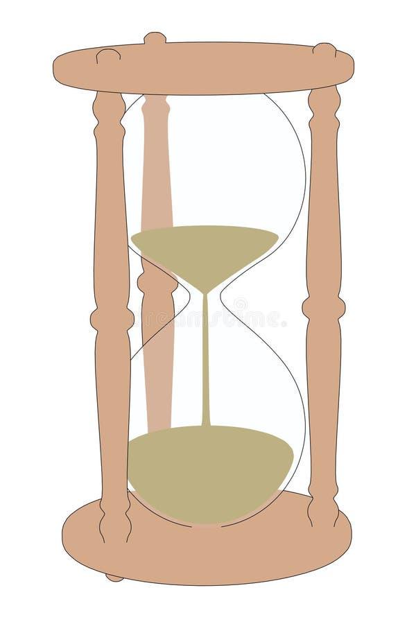 Wizerunek hourglass przedmiot royalty ilustracja
